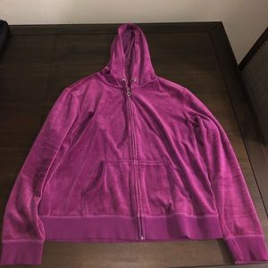 Purple Velvet Sweatsuit